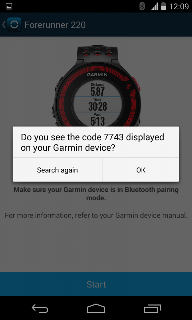 how to connect your garmin forerunner to an android smartphone