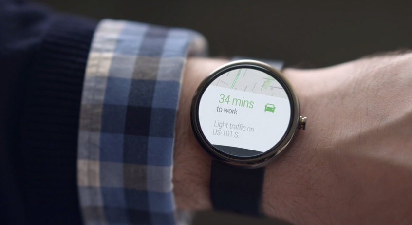 Google Navigation for exercise on Android Wear