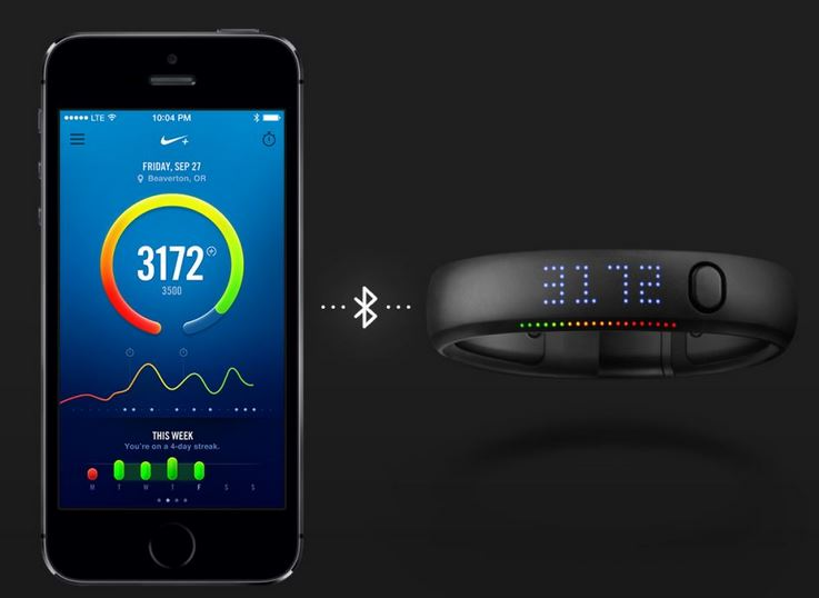 Connect Nike Plus FuelBand SE to iPhone 5s