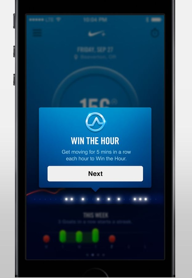 Win the Hour - Nike FuelBand SE review