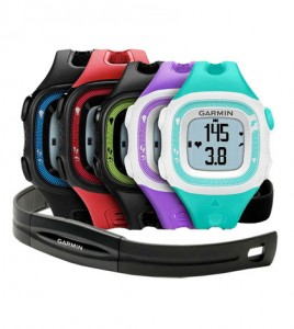 Garmin Forerunner 15 colour variants
