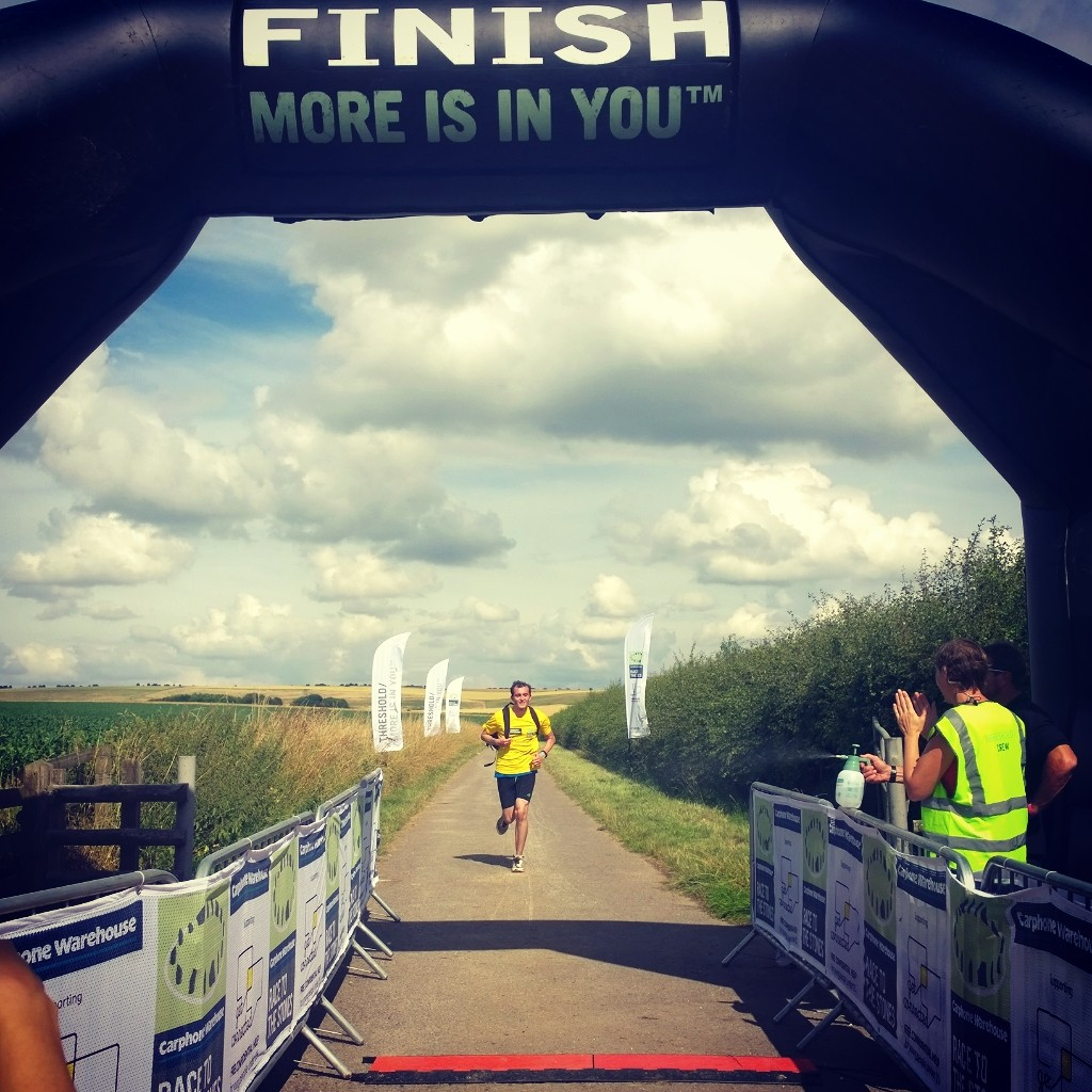 Race to the Stones 2014 finish