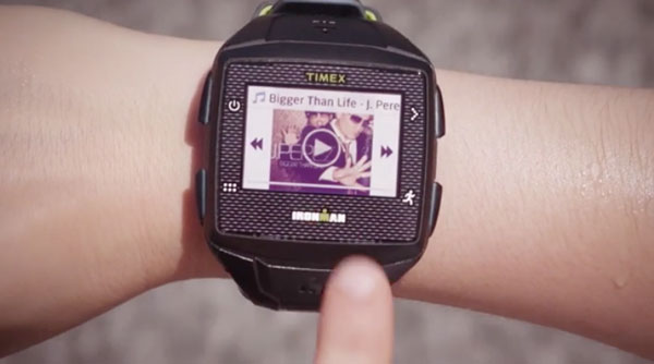 Play music on Timex Ironman One GPS+