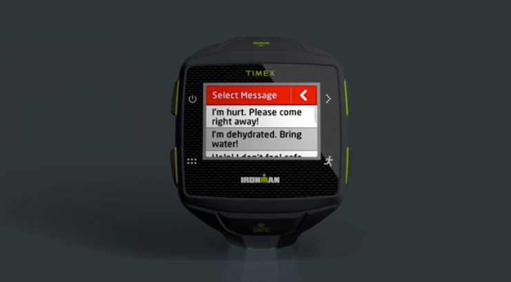 Find Me Mode - Emergency message - Timex Ironman One review
