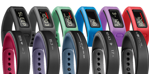 Garmin Vivosmart vs Vivofit colour range