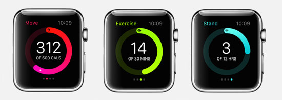 Apple Watch Sport - Stand, Move, Exercise