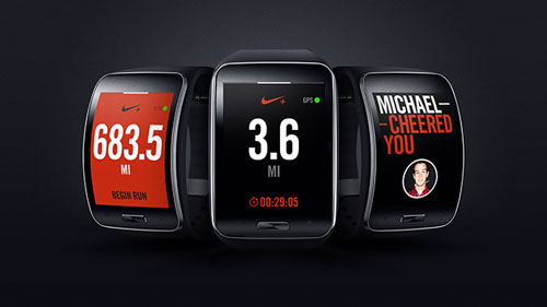 Nike Plus Running App - Samsung Gear S
