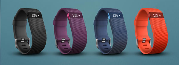 Fitbit Charge HR colours