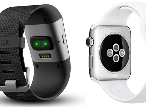 HRM monitors from wrist - Apple Watch vs Fitbit Surge