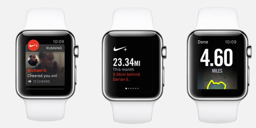 Nike+ Running App - Apple Watch Sport